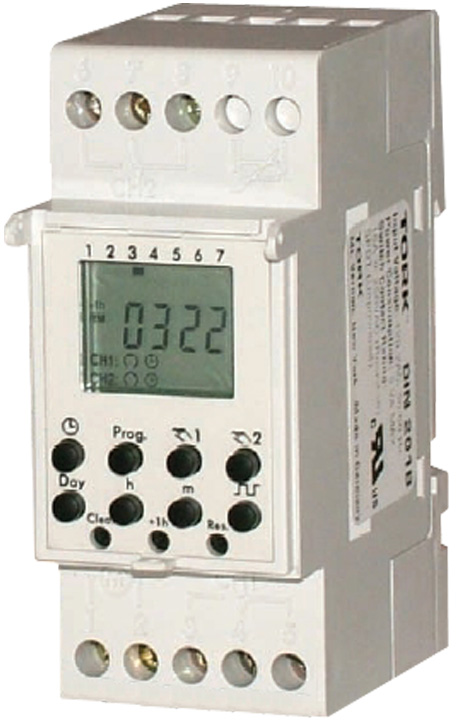 din rail timers and manuals rh waterheatertimer org Light Switch Timer Le Grand Timer Programmable