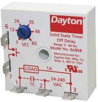 Dayton offv-delay timer