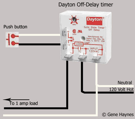 Dayton Off Delay timer 400b light on opener not working [archive] the garage journal board dayton 6a859 wiring diagram at readyjetset.co