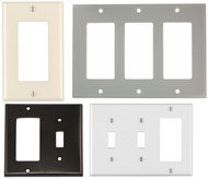 Decora wall-plates