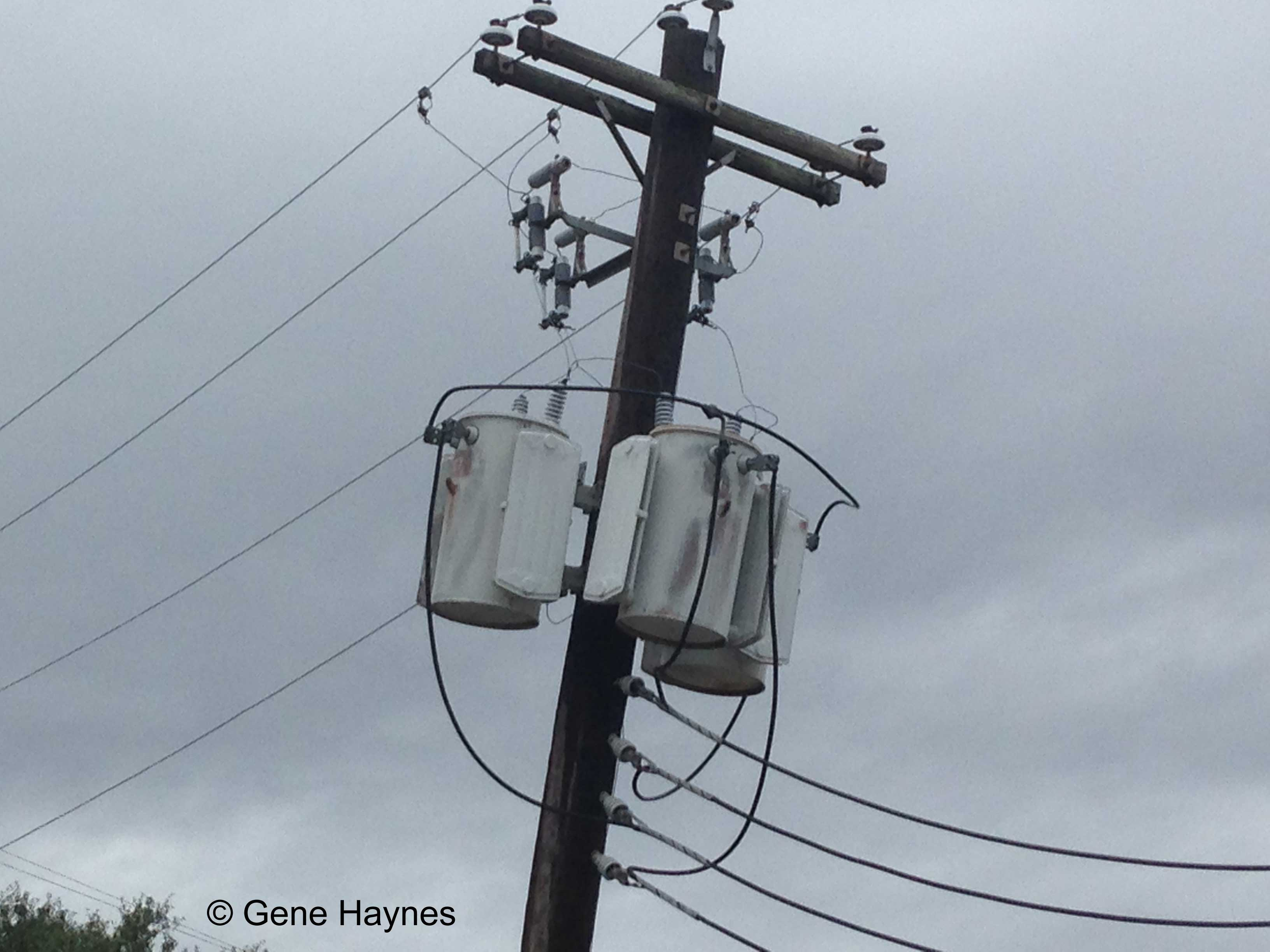 Names Of Parts On Electric Pole 3 Phase Delta Transformer Wiring Diagram Rosenberg Texas