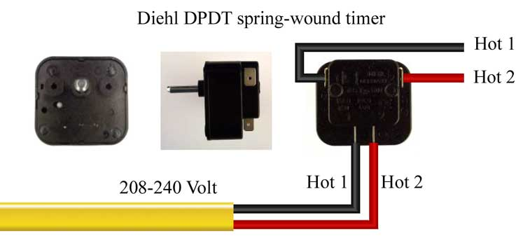 Countdown timer horsepower ratings – Diehl Electric Motors Wiring Diagram