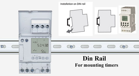 Din rail mounting