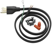 Garbage disposal replacement cord