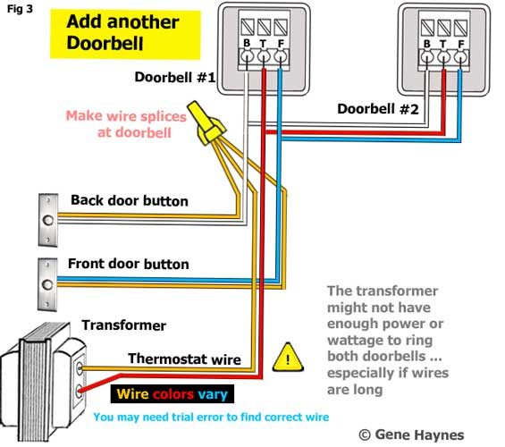 Identify wires for new doorbellWaterheatertimer.org