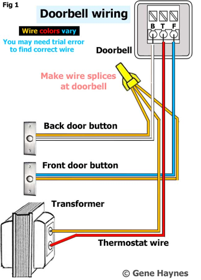 Identify Wires For New Doorbell