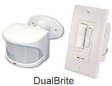 Dual bright motion detector