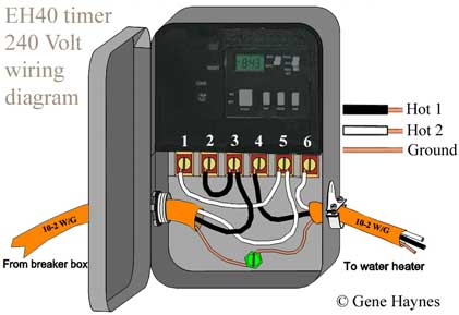 different arrangement of wires  larger image, eh40 water heater timer