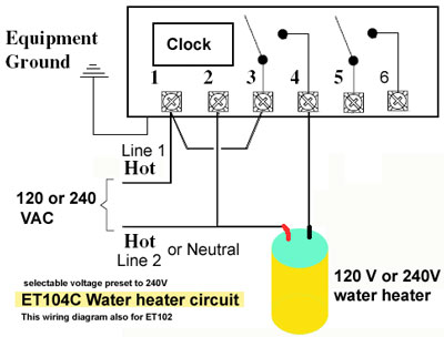 277 water heater wiring diagram how to wire intermatic et series timer  how to wire intermatic et series timer