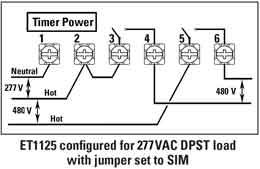 3-phase timer wiring