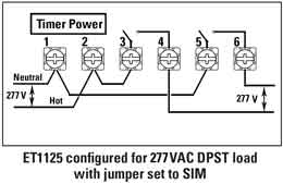volt wiring diagram image wiring diagram how to wire intermatic et series timer on 277 volt wiring diagram