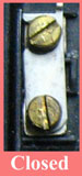 Electric meter latch