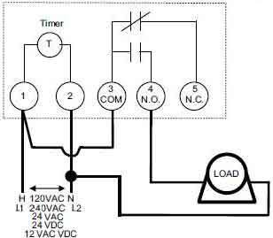 FM1D wiring illustration intermatic timers and manuals intermatic timer switch wiring diagram at panicattacktreatment.co
