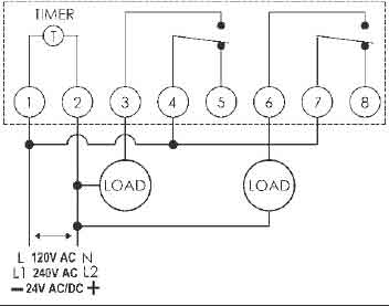 intermatic timers and manuals fm2d50 timer wiring