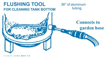 Flush tool