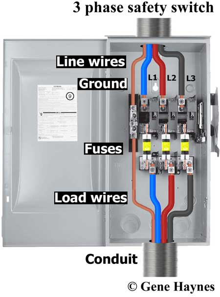 [SCHEMATICS_4FR]  How to wire 3-phase | Circuit 3 Phase Wiring Diagram |  | Waterheatertimer.org