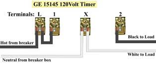 GE 15145 wiring