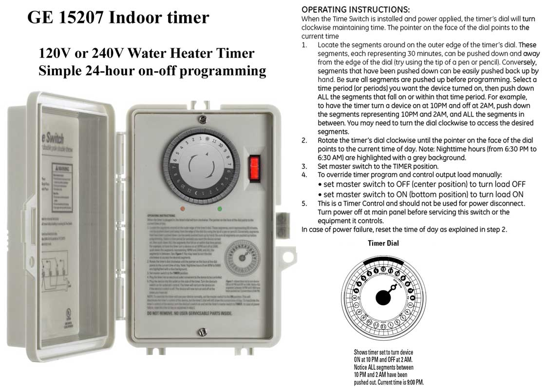 This page Installing a Water Heater Timer: Mr. Electricity is your guide to saving energy in your home.