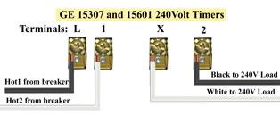 GE 15307 wiring