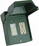 GE T5010GRP power outlet