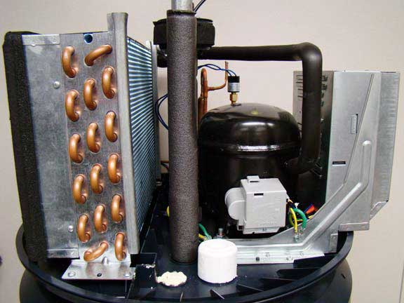 GE heat pump without cover2 review ge heat pump water heater ge water heater wiring diagram at bakdesigns.co