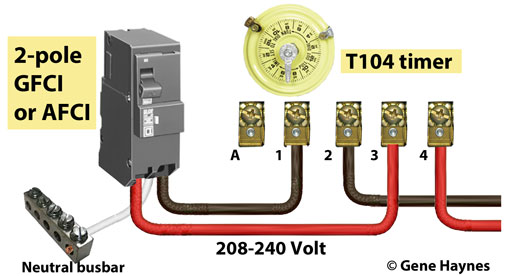 gfci circuit breaker wiring diagram gfci image how to install and troubleshoot gfci on gfci circuit breaker wiring diagram