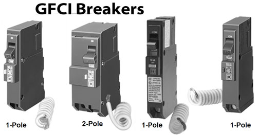 how to wire intermatic control centers gfci circuit breakers