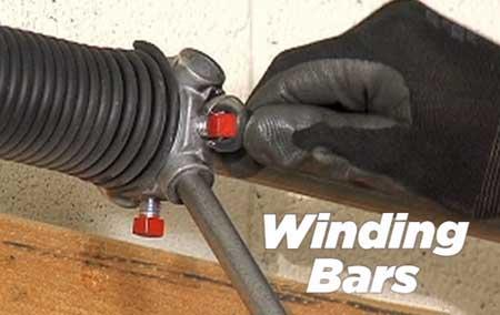 Winding bars