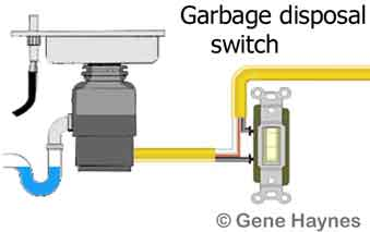 How to repair and install Garbage disposal Wiring A Garbage Disposal on