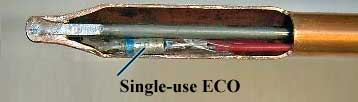 Gas water heater ECO