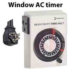 HB114C window air conditioner timer