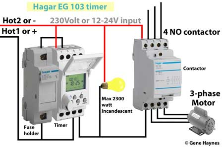 Hagar timer wiring 450 hagar timers and manuals timer contactor wiring diagram at metegol.co