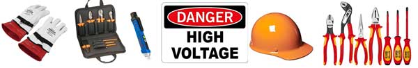 High voltage tools