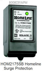 Homeline surge protector