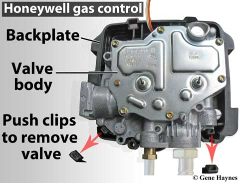 Honeywell gas control