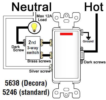 [SCHEMATICS_48YU]  How to wire Cooper 277 pilot light switch | Light Switch Wiring Diagram 3 Wires |  | Waterheatertimer.org