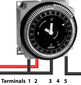 How to wire FM1 timer