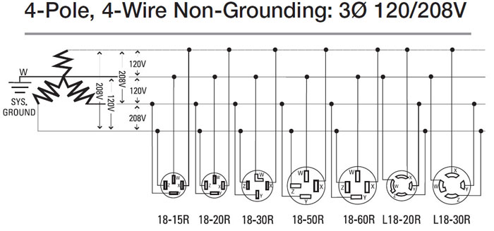 [SCHEMATICS_4NL]  What is 208 volts | 208 Volt Plug Wiring Diagram |  | Waterheatertimer.org