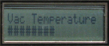 Hybernator LCD display