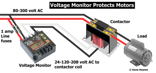 ICM492 voltage monitor wiring 400 contactors hvac contactor wiring diagram at panicattacktreatment.co