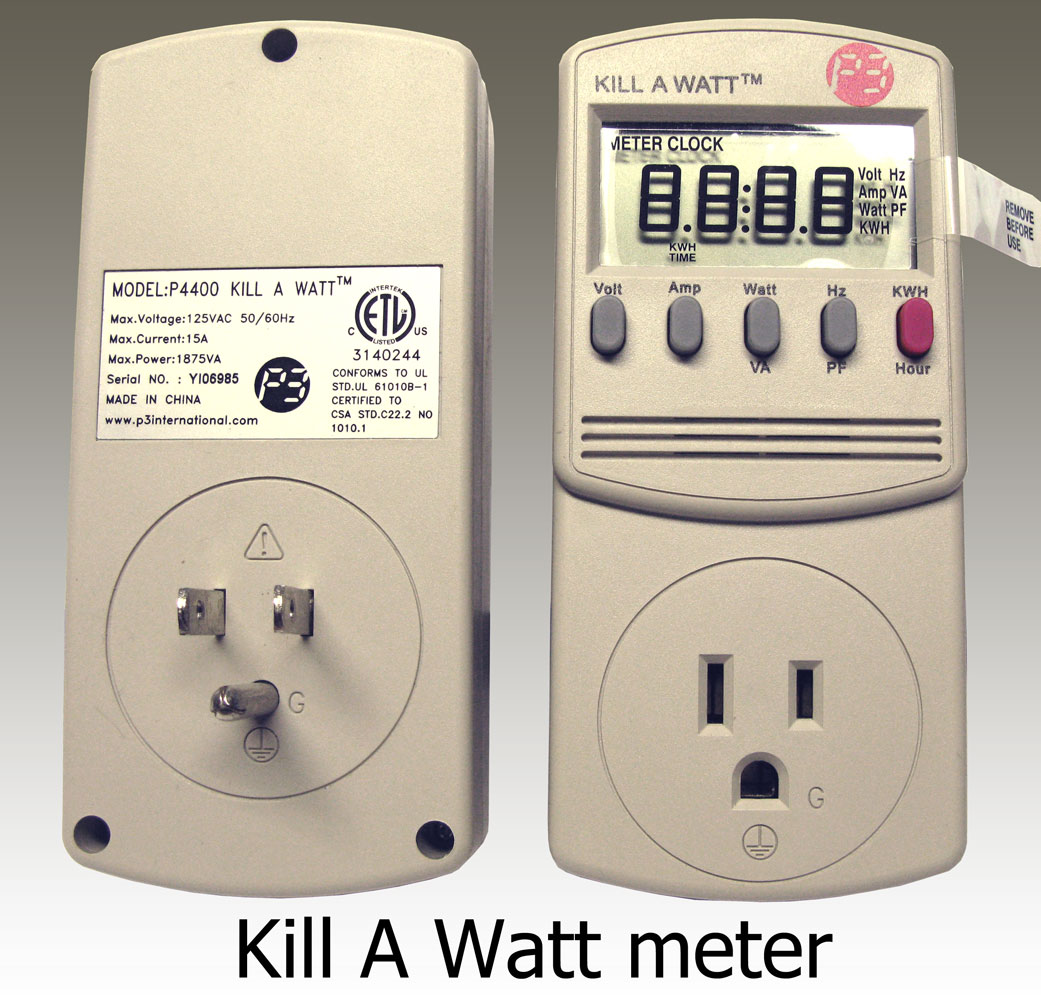 Kill A Watt Meter Larger Image