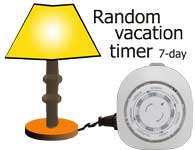 vacation timer
