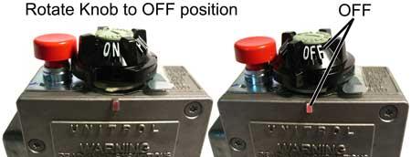 gas control knob