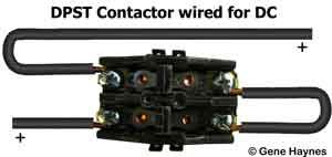 DC contactor