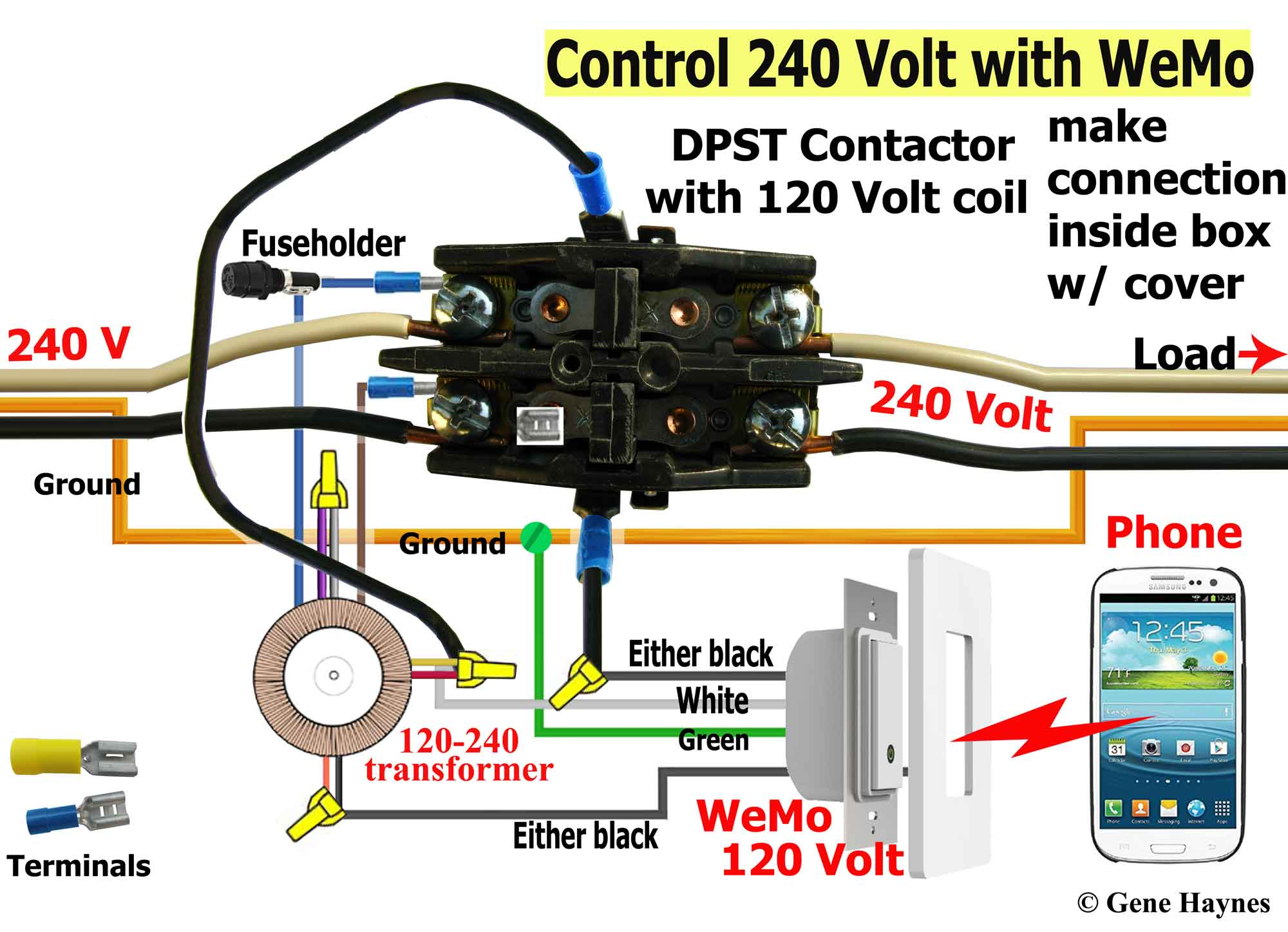 IMG_2203 contactor WeMo r2 control 240 volt with wemo 240 volt contactor wiring diagram at edmiracle.co