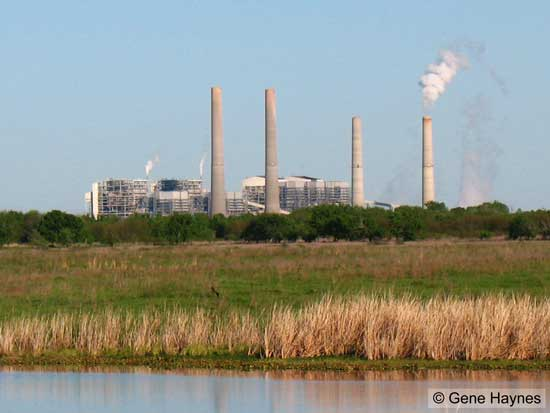 WA Parrish coal-fired power plant