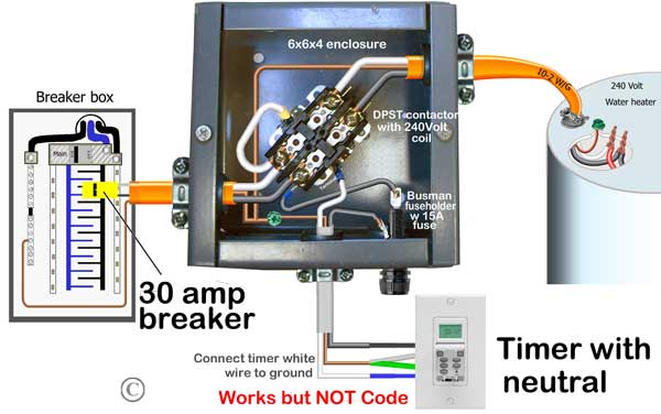 programmable timer wiring