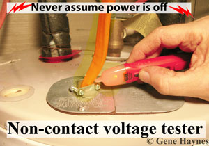 Test if electricity is off