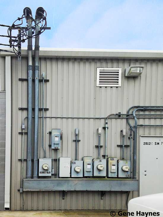 How to wire 3 phase 3 phase service for small strip center 8 wires 6 hots and 2 neutrals drop down from 3 transformers to supply several stores keyboard keysfo Image collections