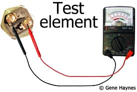 Test 2 S To Metal Shell Each Bare Part Of Water Heater Both If Multimeter Reads Any Ohms At All